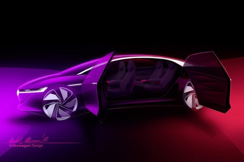 Koncept elektromobilu so značkou Volkswagen