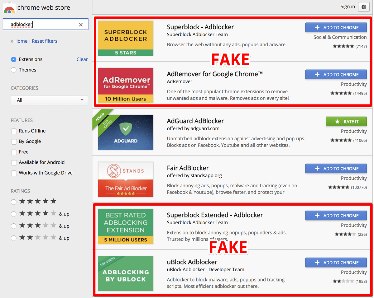 blokovanie reklamy