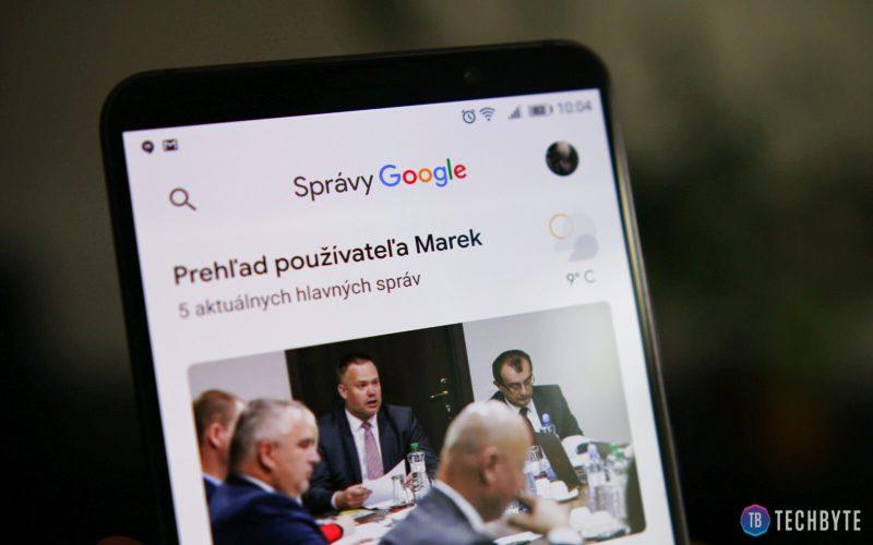 spravy google