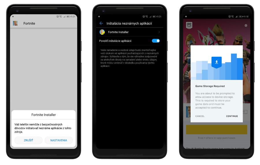 fortnite pre Android