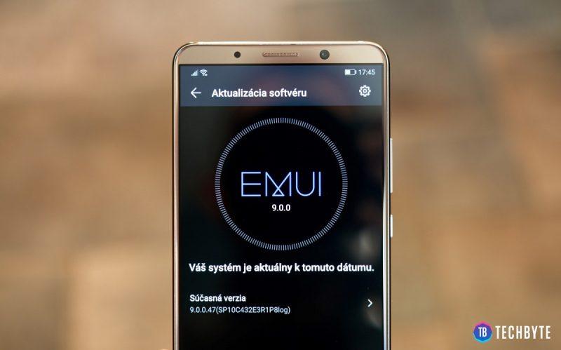 Nové EMUI 9