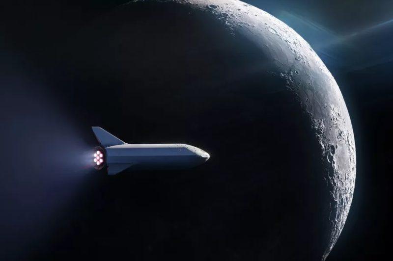 BFR vo vesmíre