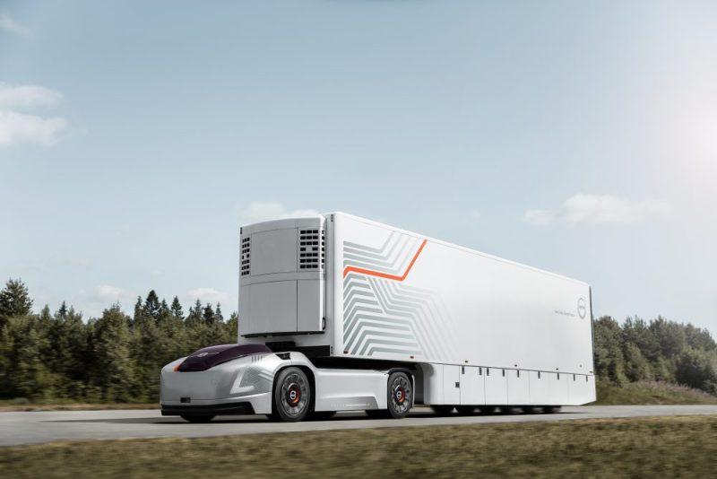 Nový kamión od Volvo