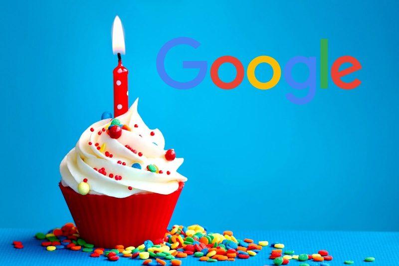 narodeniny Google