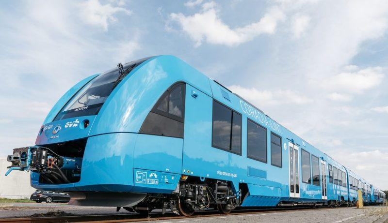 Nemecký vlak na vodík