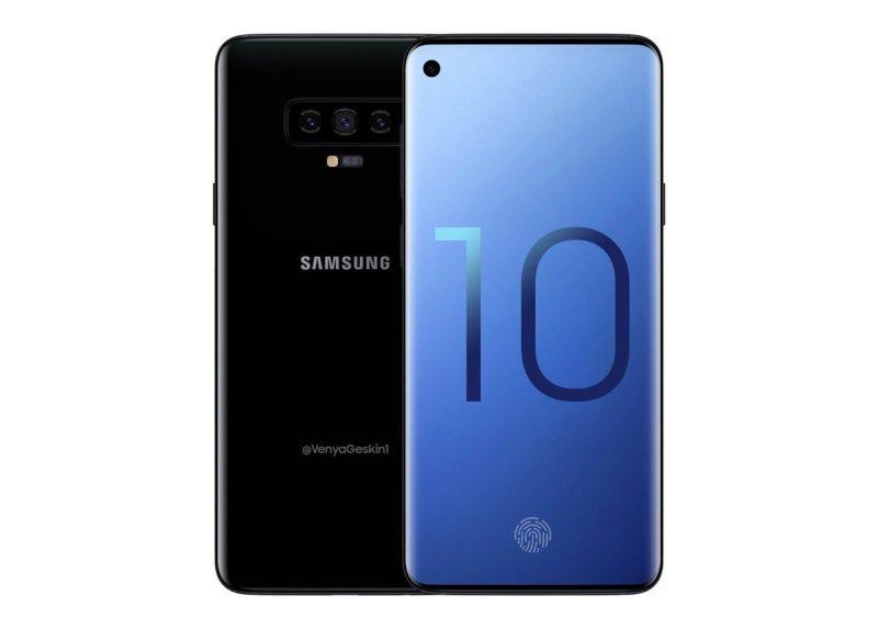 Koncept Samsung Galaxy S10