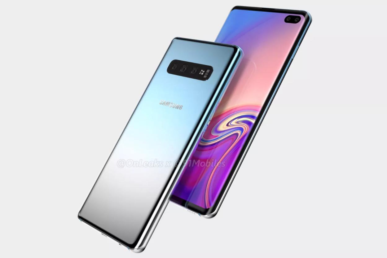 Koncept Samsung Galaxy S10 Plus