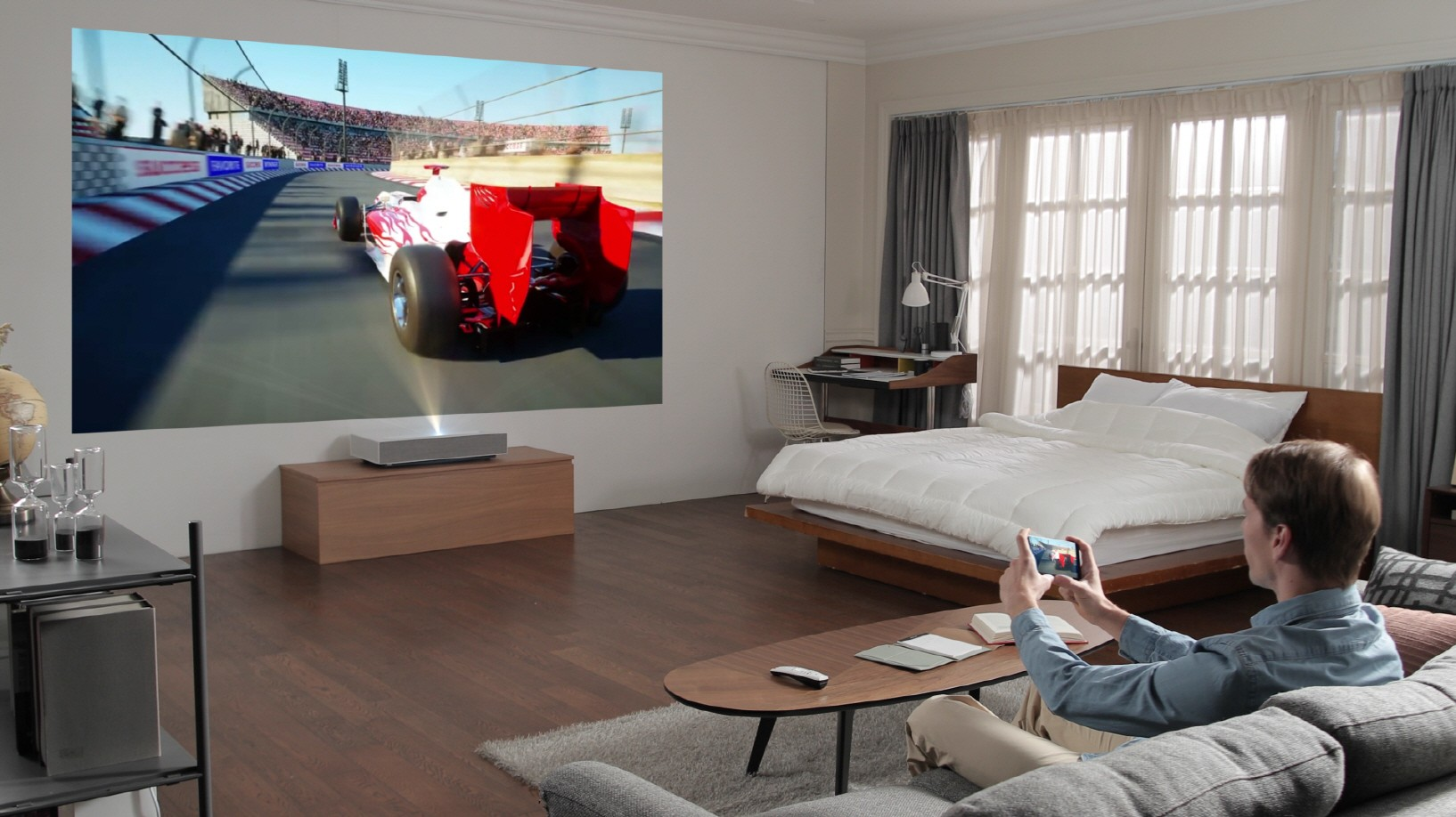 Nový 4K projektor od LG