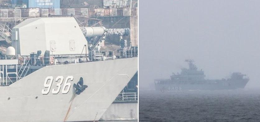 Railgun na čínskej bojovej lodi