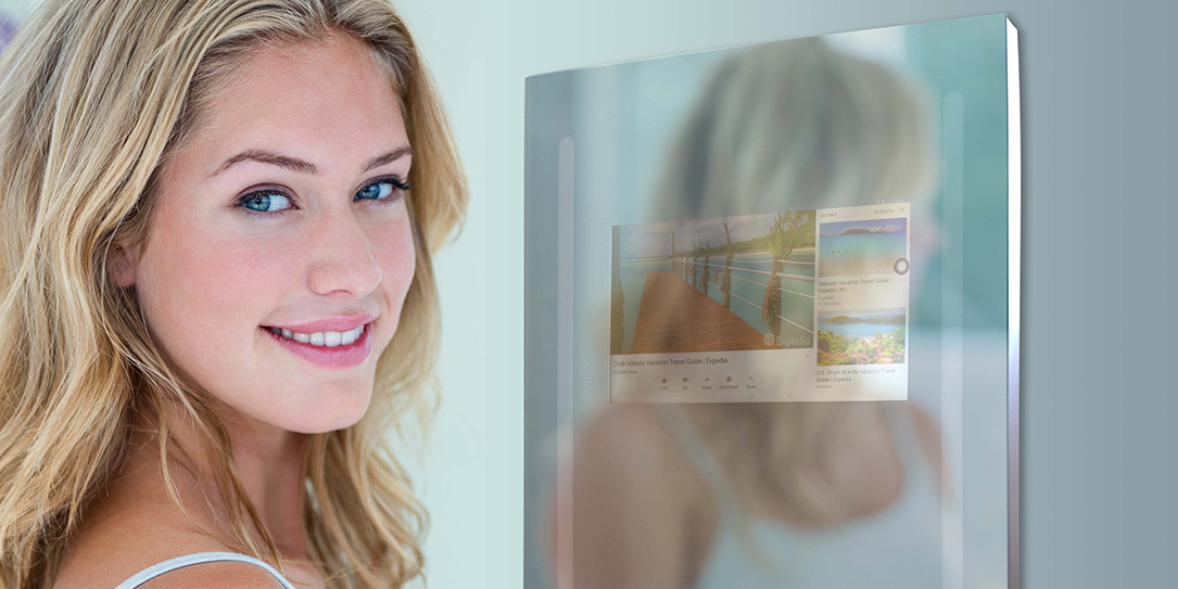 inteligentné zrkadlo