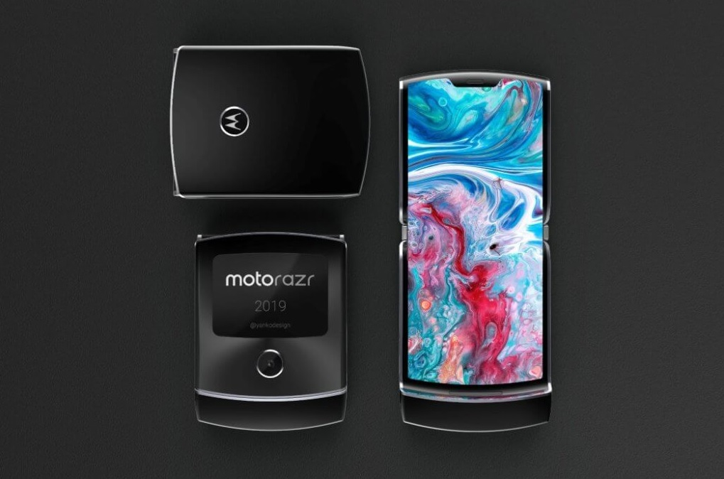 Možná podoba skladacieho telefónu od spoločnosti Motorola