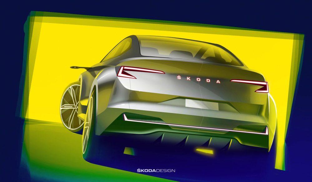 Dizajn prototypu elektromobilu so značkou ŠKODA