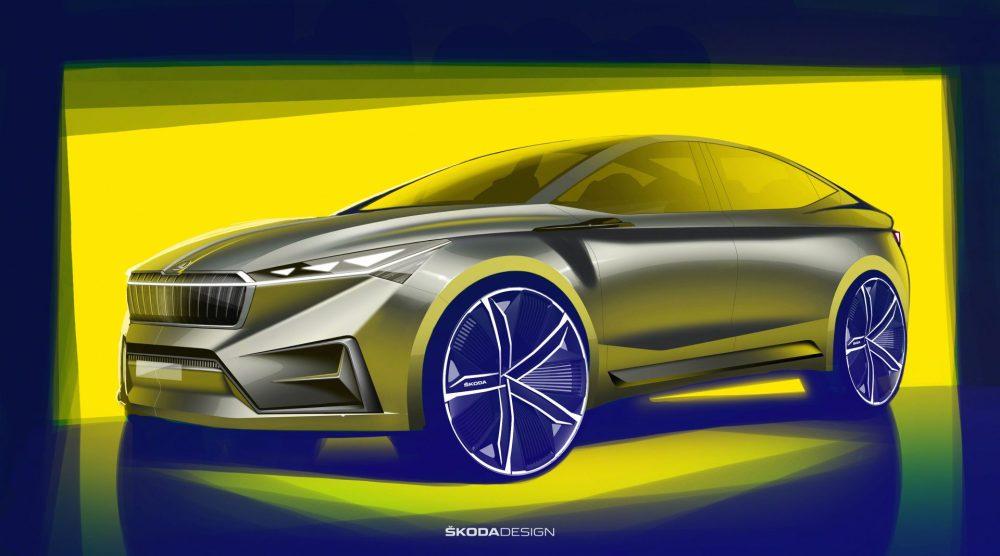 Dizajn prototypu elektromobilu od Škody