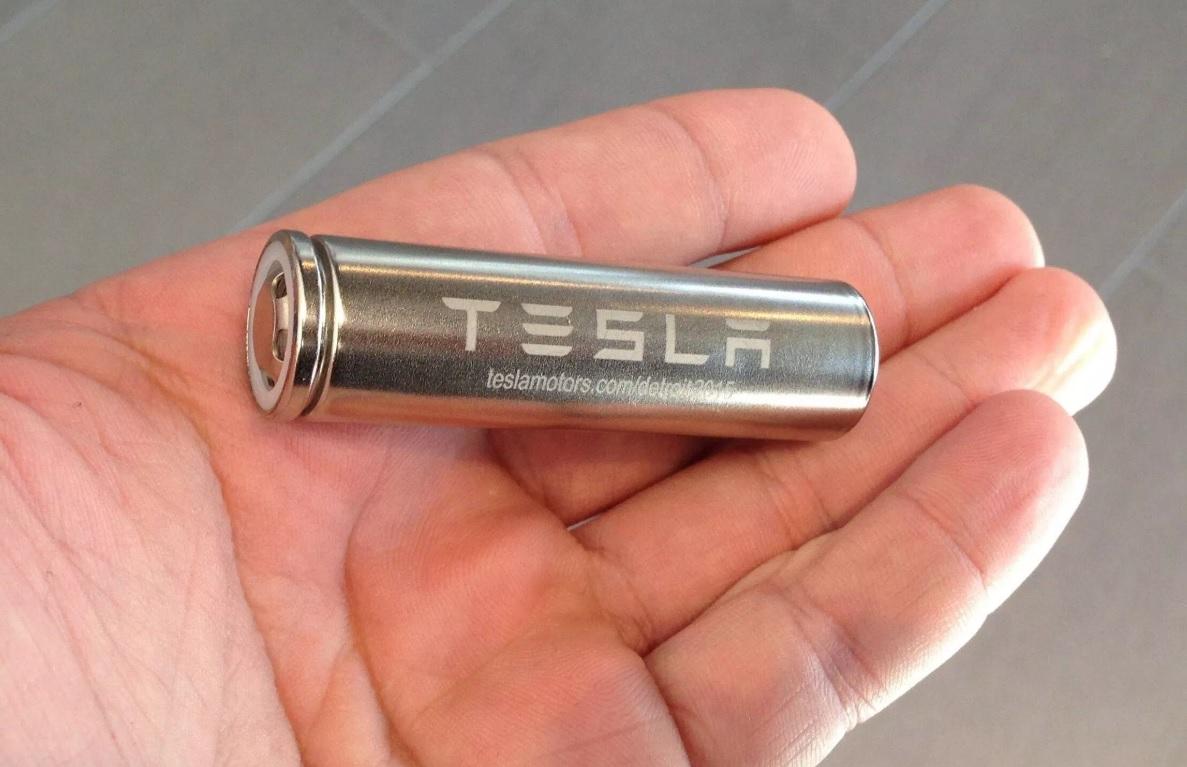 Batériový článok od Tesly