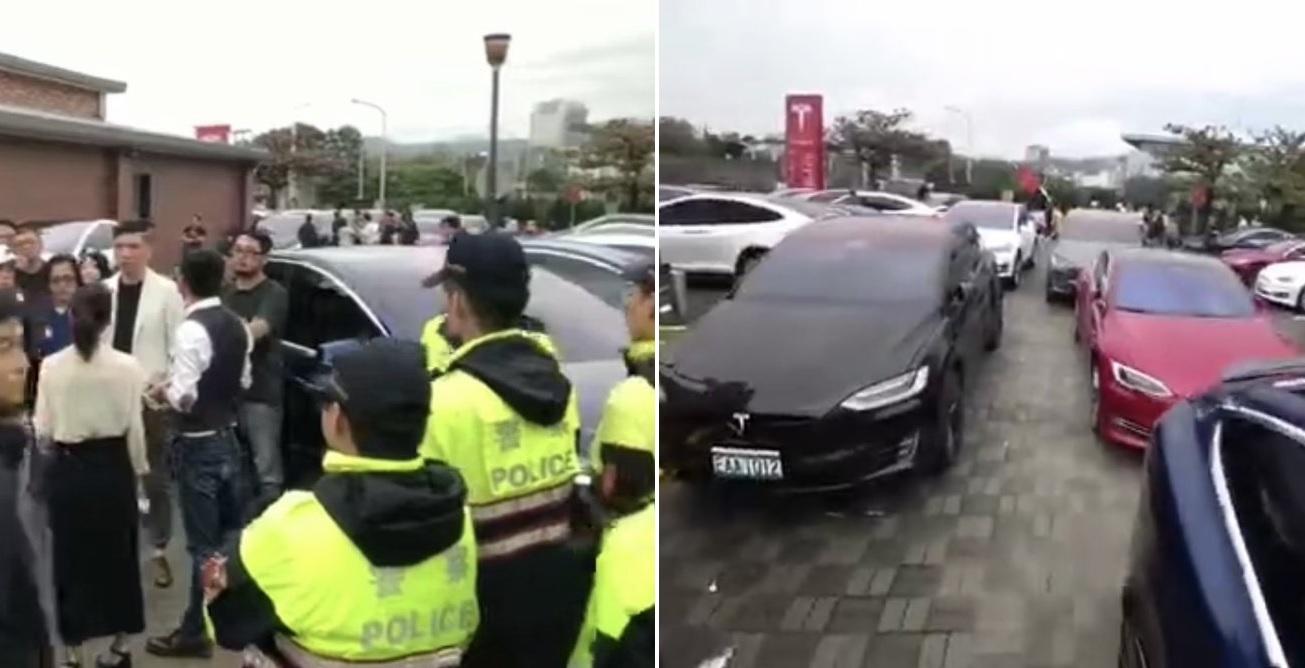 Protesty na Taiwane