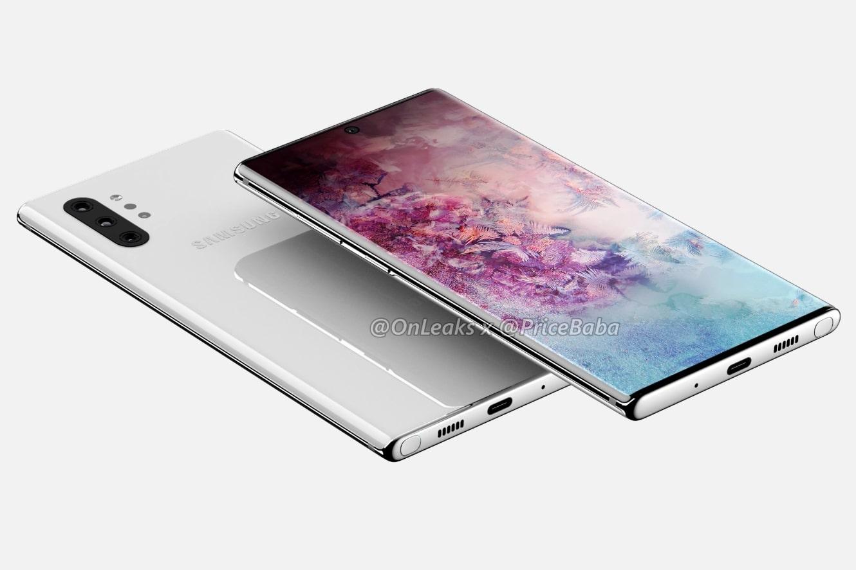 Render Galaxy Note 10