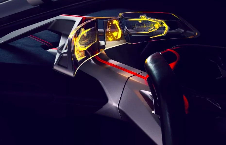 Interiér BMW Vision M NEXT
