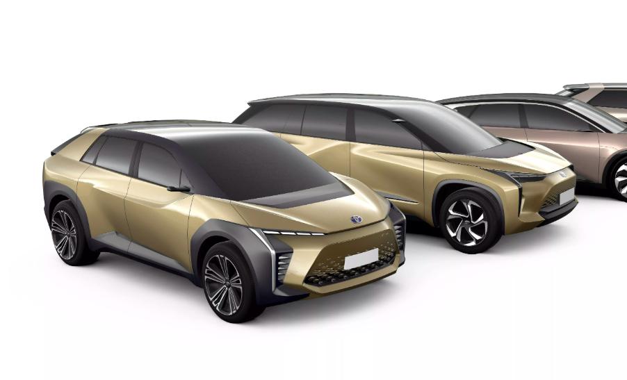 Chystané elektromobily od Toyoty