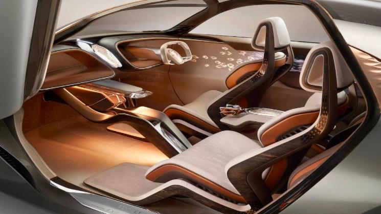 Interiér novinky od Bentley