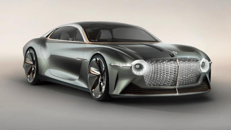 Koncept elektromobilu so značkou Bentley