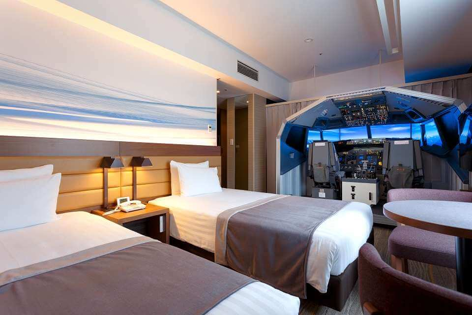Izba v japonskom hotely