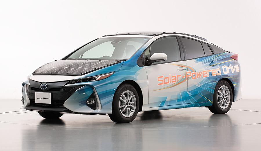 Toyota Prius s panelom