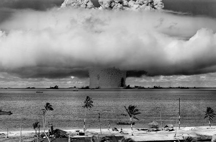 Výbuch atómovej bomby