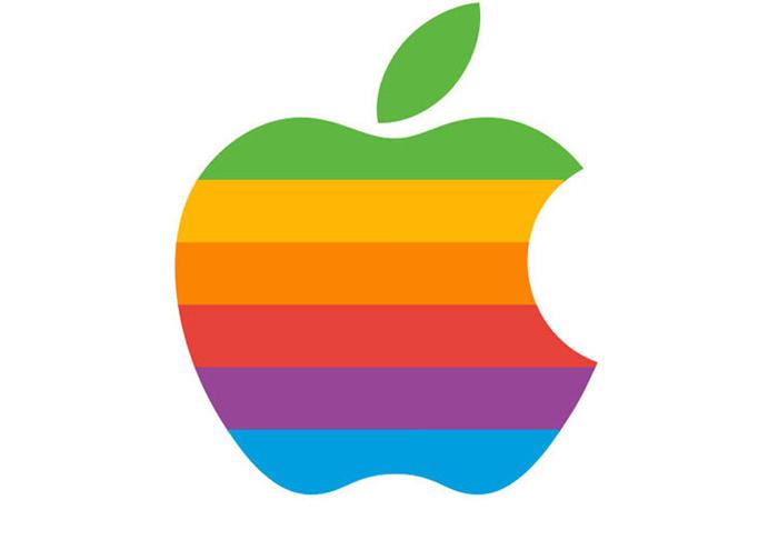 Farebné logo Apple