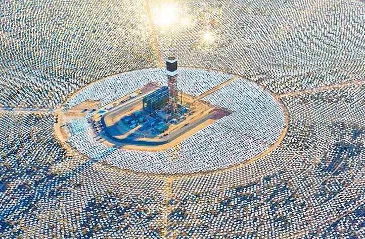 Nová solárno tepelná elektráreň