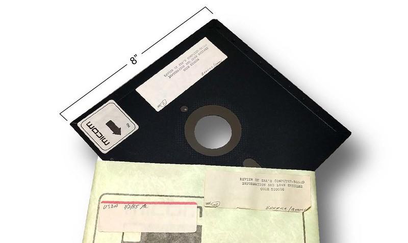 """8"""" disketa"""