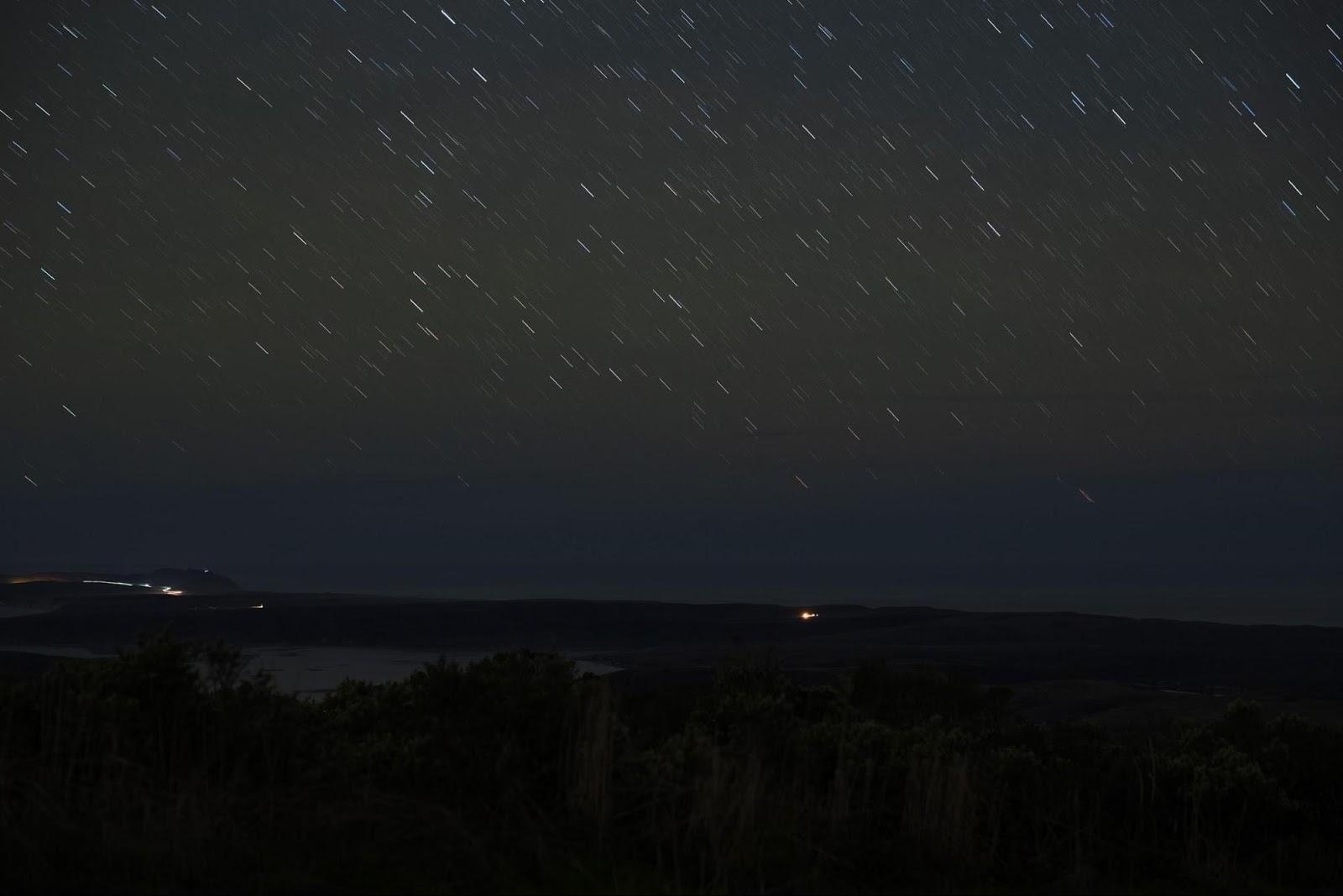fotenie hviezd