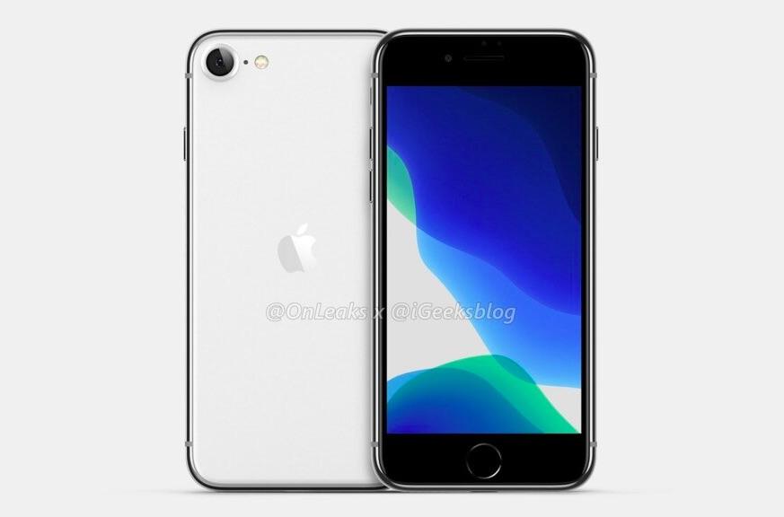 Render iPhone SE 2
