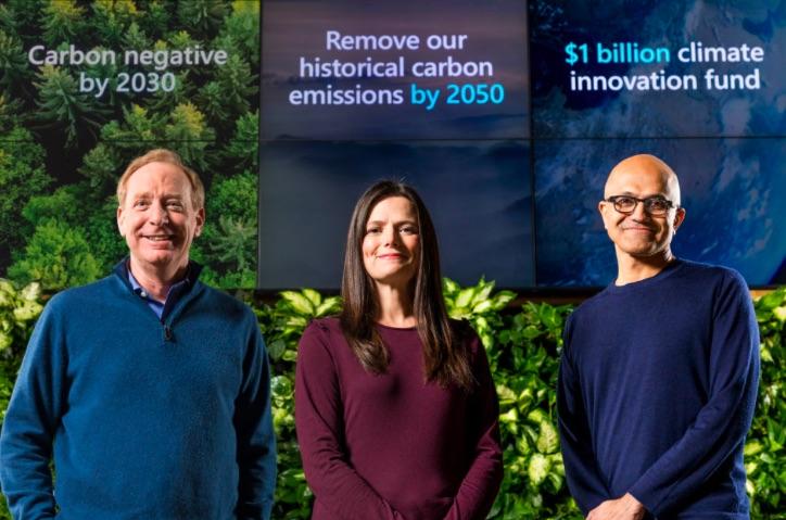 Vrcholový manažment spoločnosti Microsoft