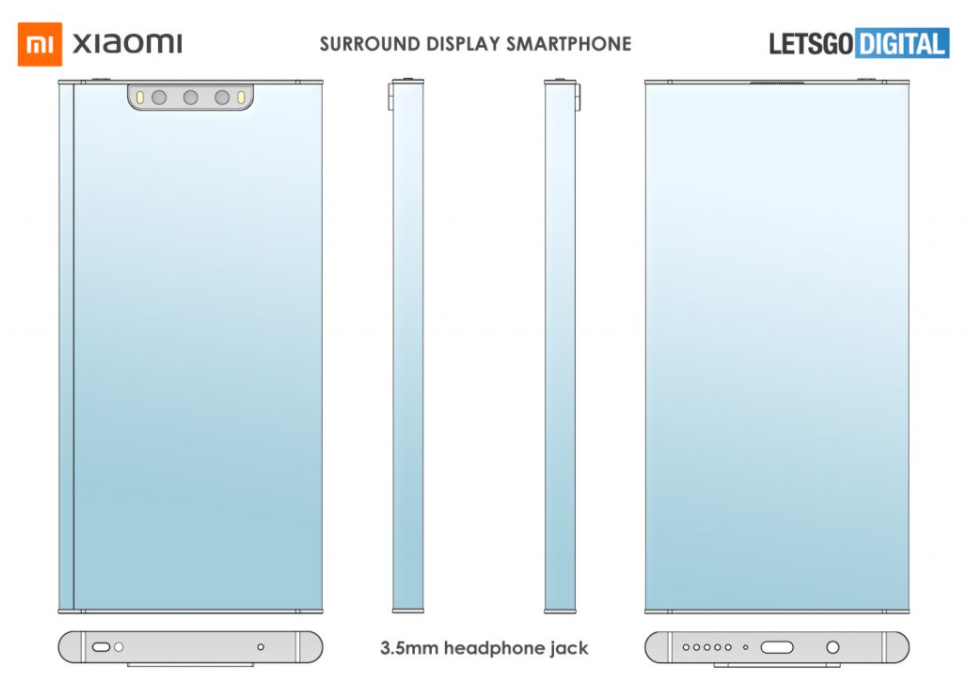 Xiaomi Mi Mix Alpha - patent