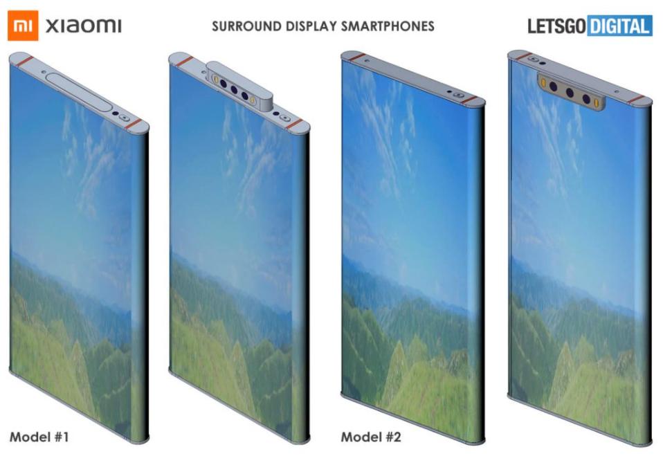 Xiaomi Mi Mix Alpha 2 - patent (3D vizualizácia)