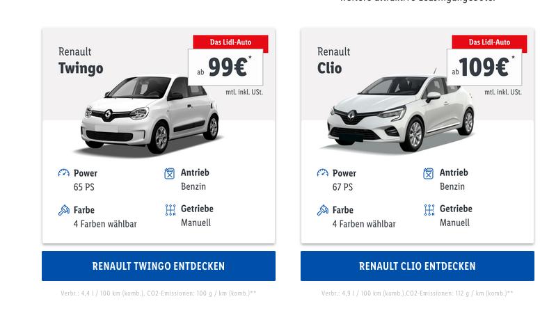Lidl v Nemecku predáva autá.