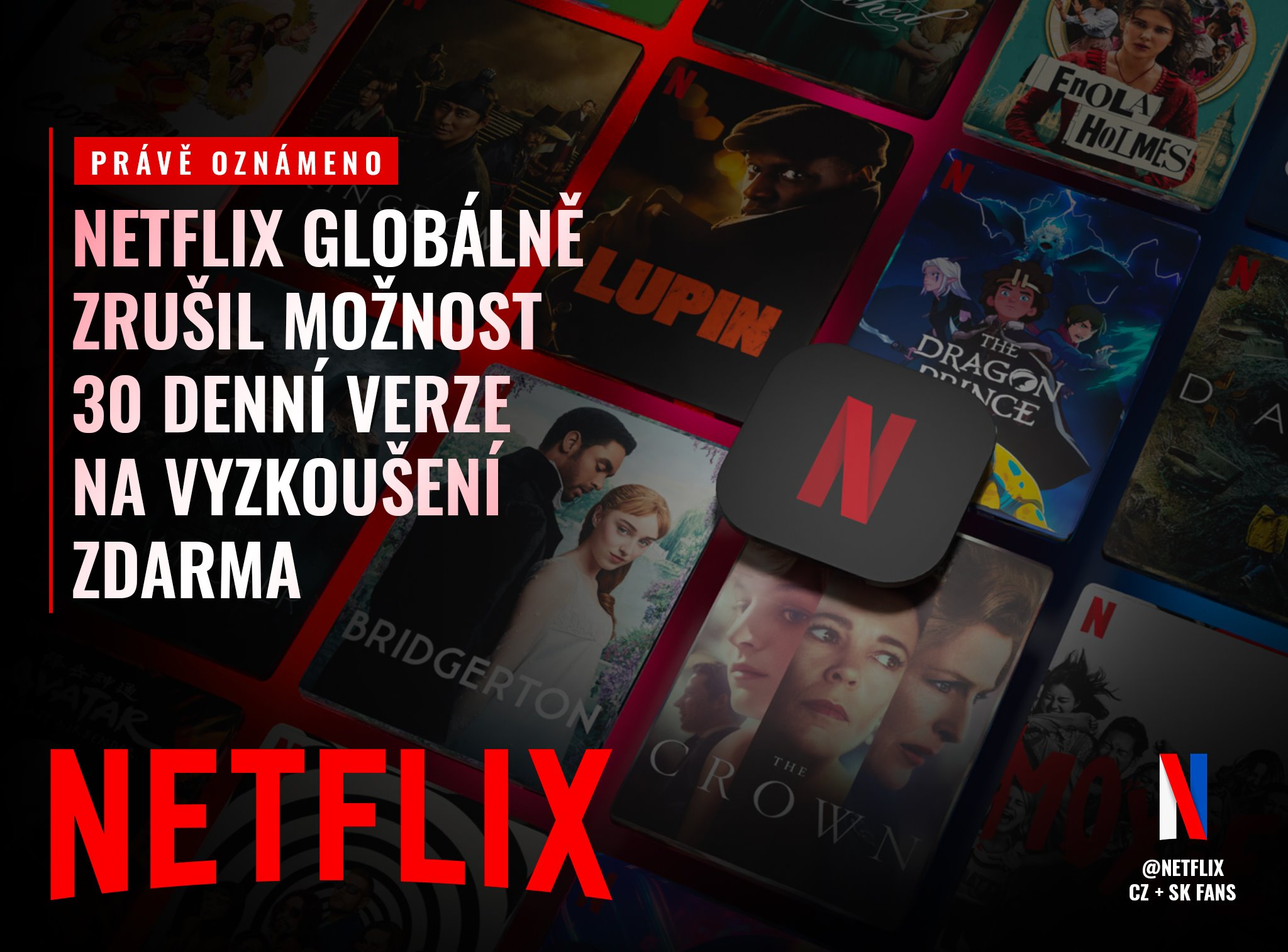 Netflix ruší skúšobnú dobu.