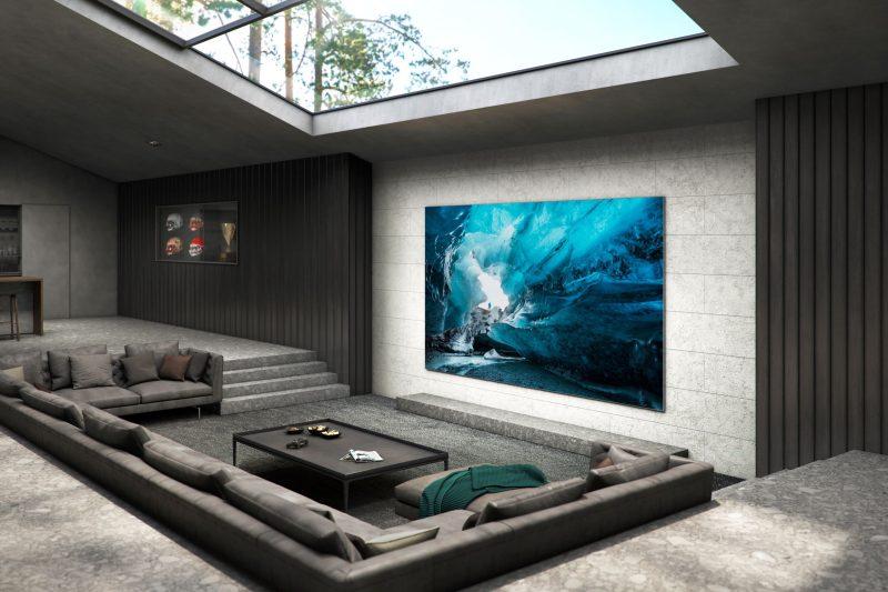 micro led TV